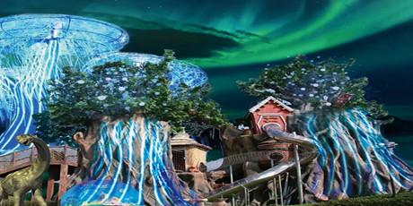 【无需预约!圣诞狂欢】【深坑秘境&蓝精灵主题乐园通玩!】【均价39.9元!】79.9元两馆畅玩!,嗨翻一天!两馆几十个项目一价全含