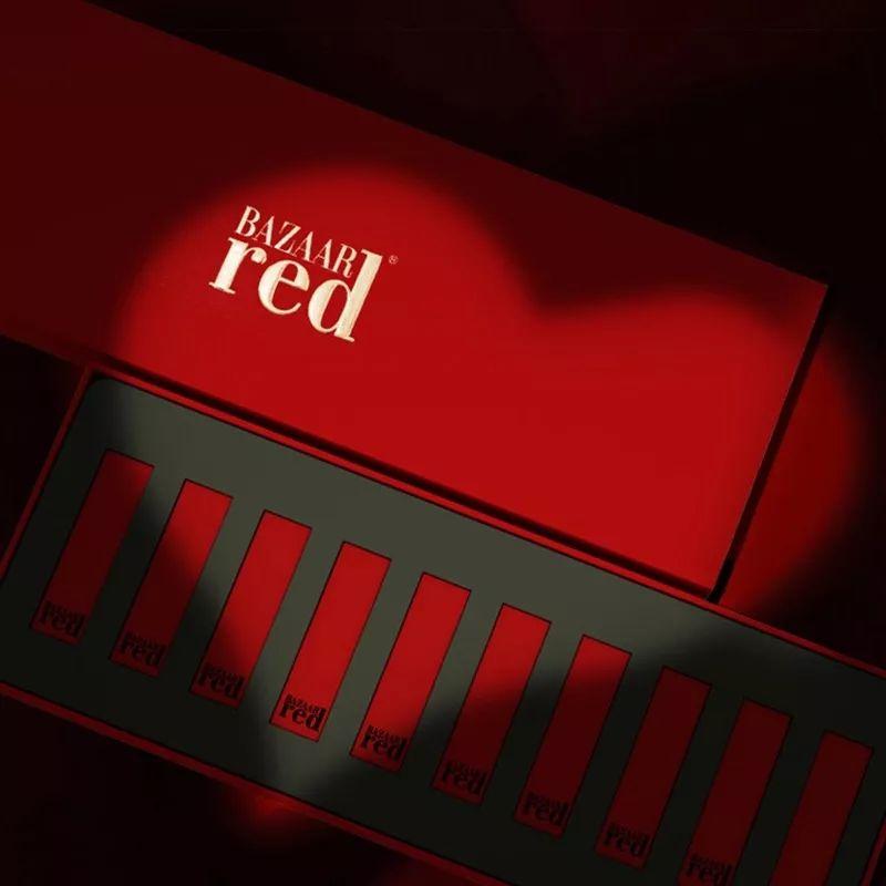 已下架~~~【年末最后的疯狂】168元抢原价1980元『Bazaar red芭莎红』口红套装!