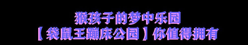 【嘉定|中信泰富万达】【寓教于乐】【花样玩法】猴孩子的梦中天堂!39.9元享市价160元的【袋鼠王蹦床公园】1大1小亲子票!蹦床公园蹦床/星际迷航/冰雪奇缘项目三选一