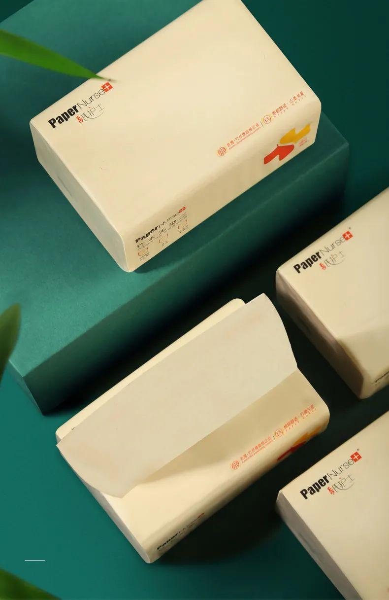 【伊藤&永辉商超同款 | 采琪采 | 纸护士本色抽纸】29.9元=40包!竹木本色纸!美国FDA,欧盟AP两大食品级安全认证检测!本色无染,健康品质生活!