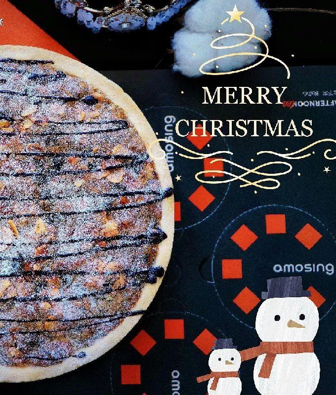 【可自提可配送丨圣诞美味下午茶】生活虽苦,但总有甜蜜的能量治愈你!79.9/88元享【杜夫朗格蛋糕&安莫希林甜品】套餐:A到店自取:九宫格甜品/新品圣诞甜品派(8寸);B全天津配送:新品圣诞甜品派(8寸)…快来收下你的甜蜜享受~