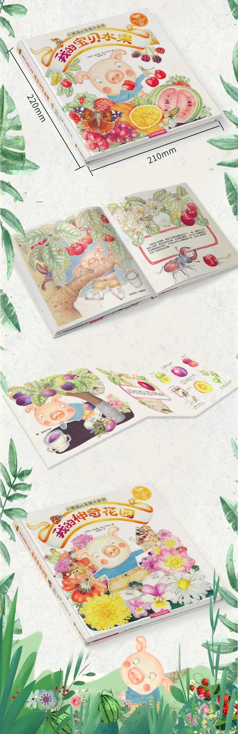 【荷兰儿童选择大奖童书,培养孩子的想象力和审美力】画风亲切,淳朴自然,让孩子爱上大自然,对植物进行科普,引导孩子发现植物,认识世界,形成由表及里的思维方式